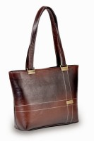 Cuddlybear Two -Tone Brown Shoulder Bag - Brown