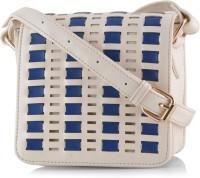 Butterflies Designer Sling Bag Beige