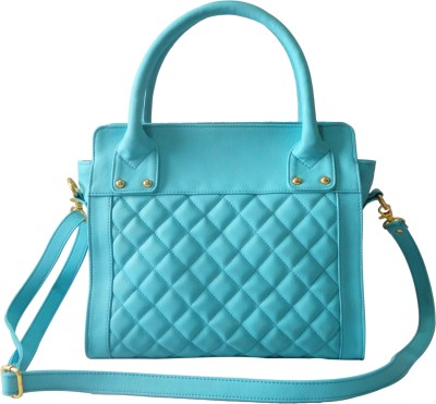 Toteteca Bag Works Quilted Compact Tote Hand Bag - Turquoise