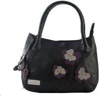 Klasse Genuine Leather Women Hand-held Bag Black