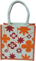 Benicia Jb025-Floral-Print Hand-held Bag Orange, Red
