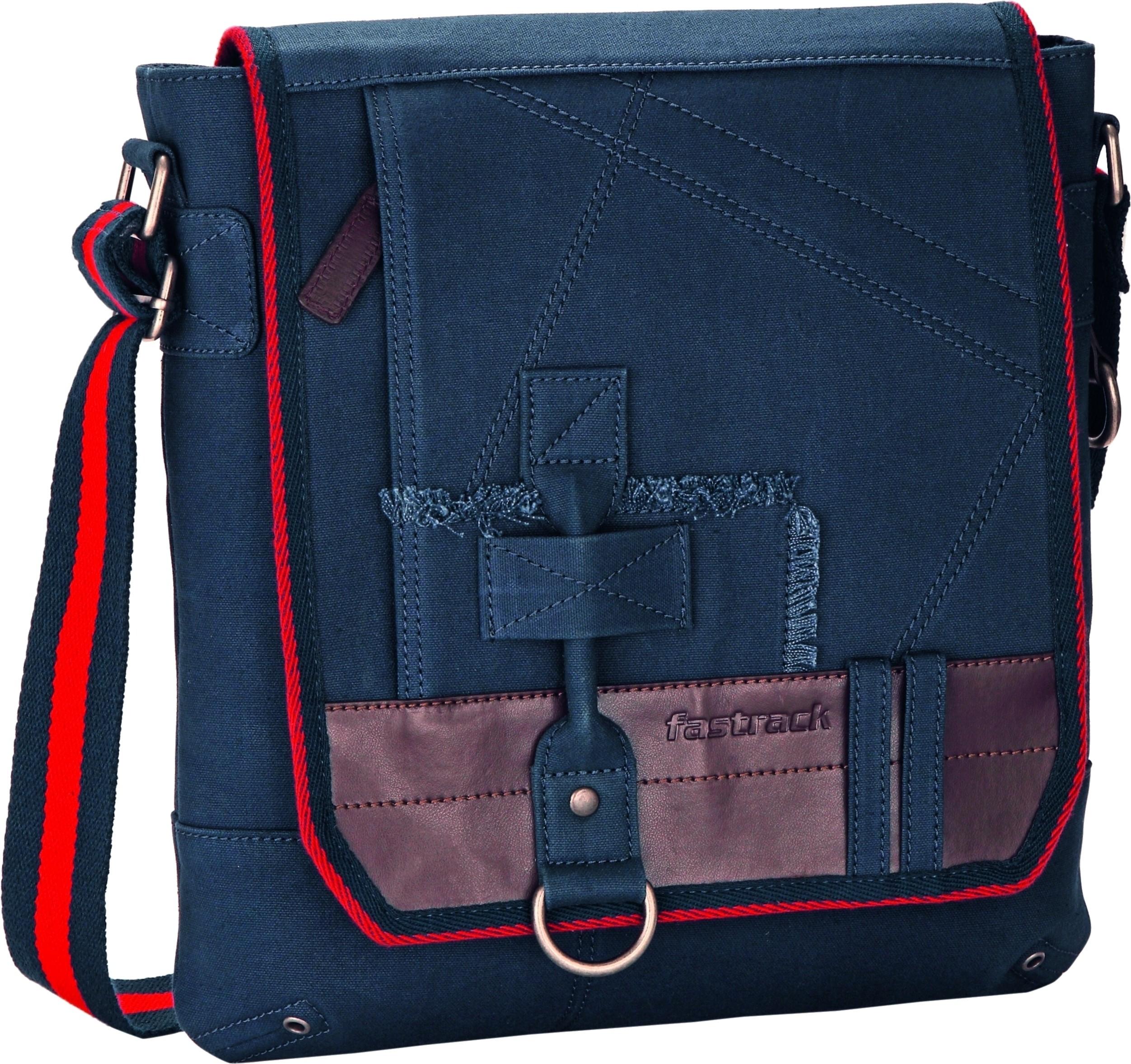 Fastrack Messenger Bag Blue - Price in India | Flipkart.com