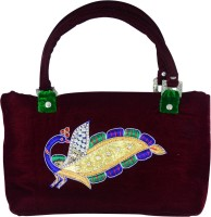 Arisha Kreation Co Hand-held Bag Maroon