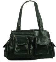 Estoss Multi-Pocket Box Shoulder Bag (Black)