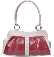 Arshia Stylish With Stone Design Hand-held Bag Red