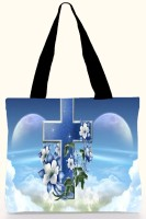 Active Elements Eye-Catching Both Side Printed For Daily Casual Use. D. No. -18150 Shoulder Bag Blue-02