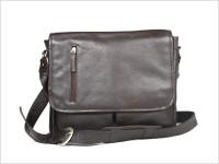 Kara Marc Messenger Bag - Brown