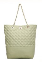 Neon By Paint PT091443 Leather Shoulder Bag Light Green-43