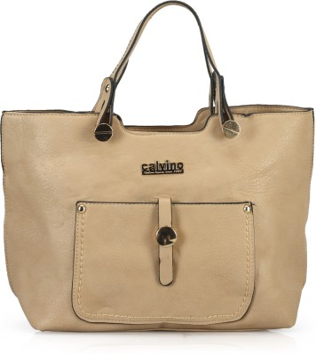 Calvino Calvino CL_8005 Hand-Held Bag (Brown)