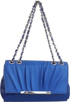 Hi Look Baguette Hand-held Bag - Blue-01