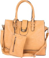 Marrioti Hand-held Bag Light Brown