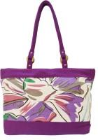 Shilpkart Canvas Print Hand-held Bag - Purple