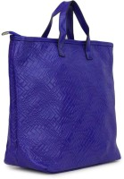 Penguin Pu Ladies Zigzag With Adjustable Strap Tote Blue-Zl012
