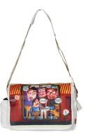 Imagica Mumbai Train Messenger Bag - Off White