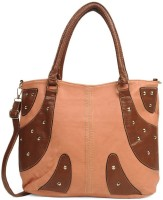 Adisa B1006 Hand-Held Bag Peach, Brown