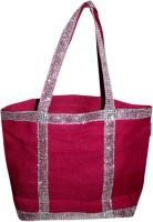 Snigdha Pink Diamond Lace Shoulder Bag Pink 12