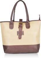Alessia74 Hand-held Bag Beige-Dk Brown
