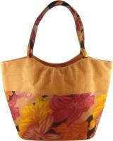 Angesbags Jute Hand-held Bag (Orange)