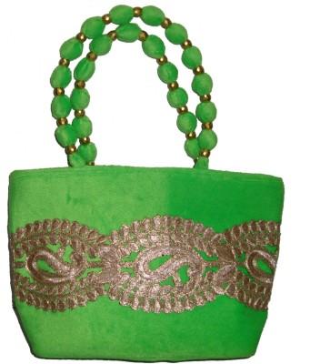Angelfish Designer Hand-Held Bag (Green)