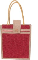 Womaniya Handicraft Ethnic Lunch Hand-held Bag Red