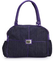 Frosty Fashion Stylish And Sleek FF0100620 Hand-held Bag (Purple)