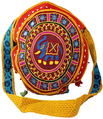 Desi Crown Indian ethnic, Tribal, Gypsy, Bohemia, Hippie, Hand made & Hand crafted Shoulder Bag Multicolor