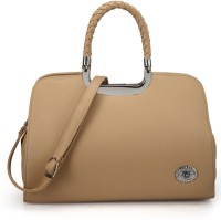 RRTC Trendy And Elegant Hand-held Bag (Tan)