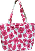 Benicia Flower Print Shoulder Bag Pink