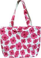 Benicia Flower Print Shoulder Bag Pink