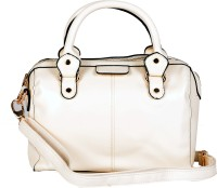 Senora Stylish Hand-Held Bag Cream