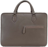 Brune Leather Messenger Bag - Green - HMBEYY8T7DQDNUSX