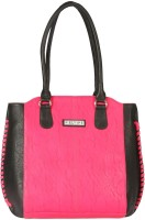 Bagmire Beautiful Women Hand-held Bag (Pink-Black)