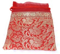 Kriti Creations Designer Gifting Bags Pouch Potli Red
