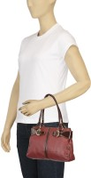 Arshia Stylish Red Long Handbag Hand-held Bag - Red-04