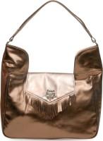 Juvalia Metal Mania Hand-held Bag - Gold