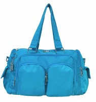 Jinu Trendy 9W23b Hand-held Bag - Blue