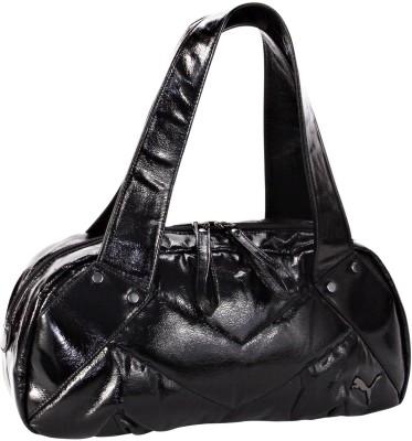 7870d22a30eb 27% OFF on Puma Hazard Hand-held Bag Black Metallic on Flipkart ...