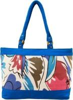 Shilpkart Canvas Print Hand-held Bag - Turquoise