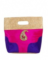 Bag Berry Royal Hand-held Bag (Hot Pink)