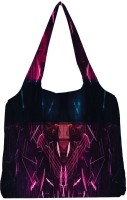 Snoogg Neon Mask Made Of Shards 2667 Jhola Tote Multicolour