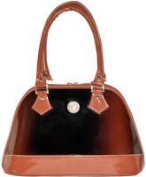 Bueva Exclusive Double Tone (Cb2t) Hand-held Bag (Coffee Brown - Cb2t)
