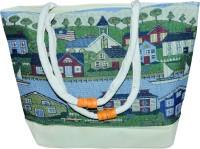 Rksons Silk Hut Printed Shopping Hand-held Bag Multicolor-06