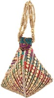Home N Mee Multicolored Beads Pouch Potli Multi Color