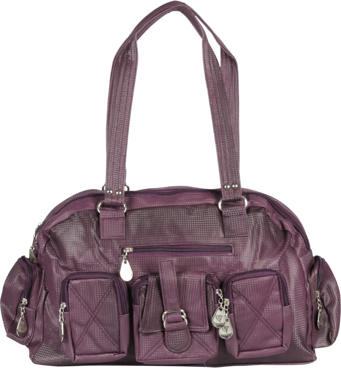 Gym Bag Flipkart: Angel Shoulder Bag Purple - Price In India