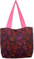 Mad(e) In India Paisely Tote - Black
