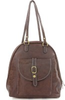 Iva Hand-held Bag Dark Brown