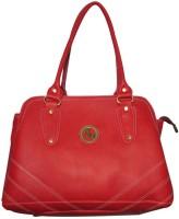 Black&Yellow Trendy Shoulder Bag - Red