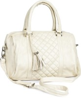 Lychee Bags Bowling Shoulder Bag (White)
