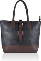 Alessia74 Hand-held Bag Black-Dk Brown