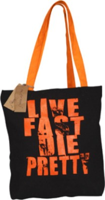 Buy Be for Bag Live Fast Die Pretty Tote: Hand Messenger Bag